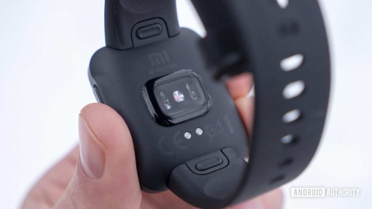 xiaomi mi watch lite review sensor de frequência cardíaca 2