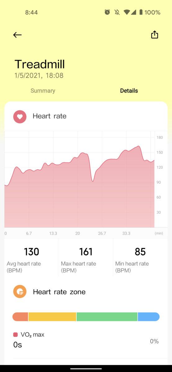 xiaomi mi watch lite review monitoramento de freqüência cardíaca