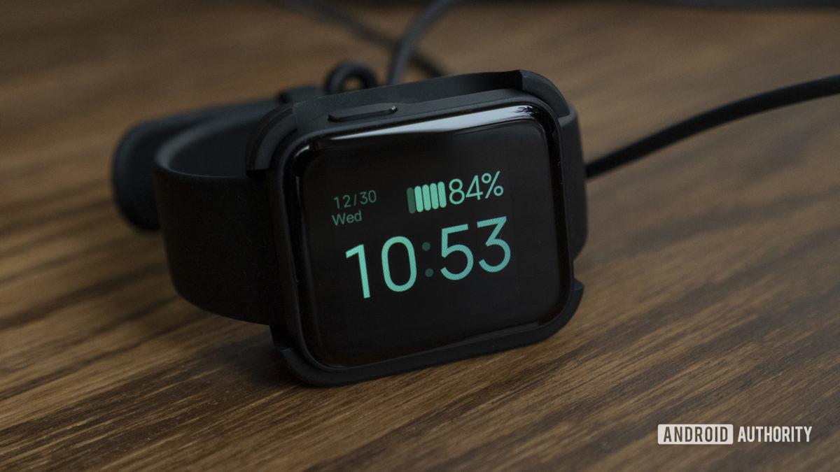 xiaomi mi watch lite review carregador de bateria