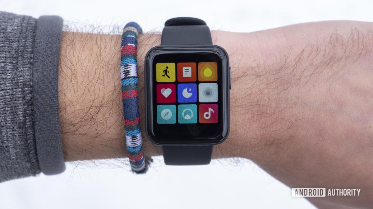 xiaomi mi watch lite analise a tela de todos os apps