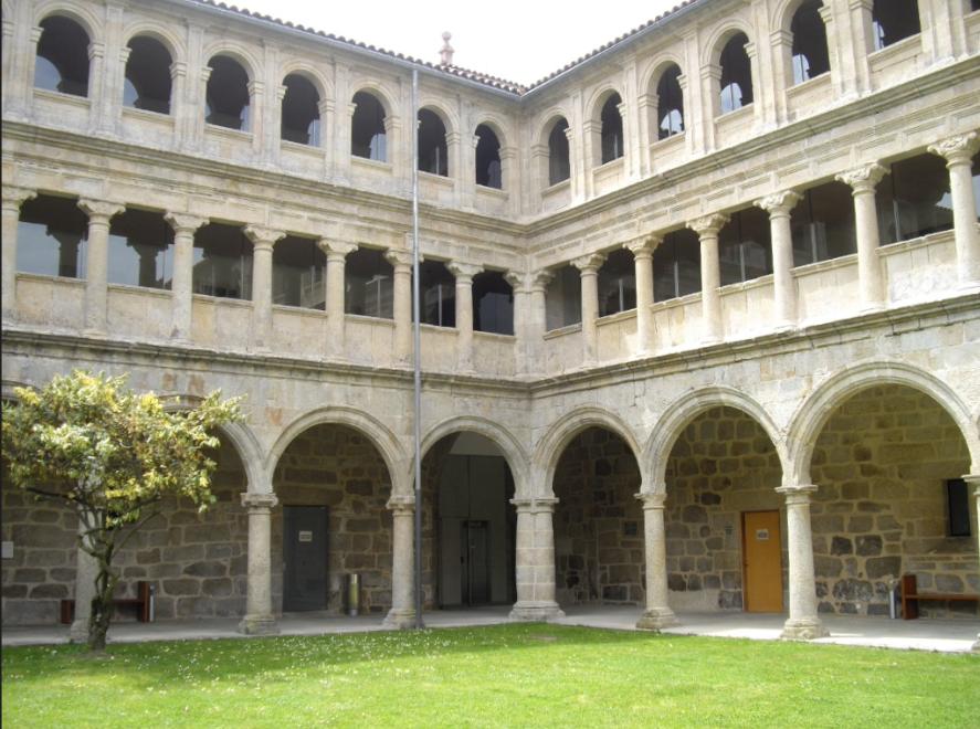 Parador Santo Estevo, Ribeira Sacra, Espanha.