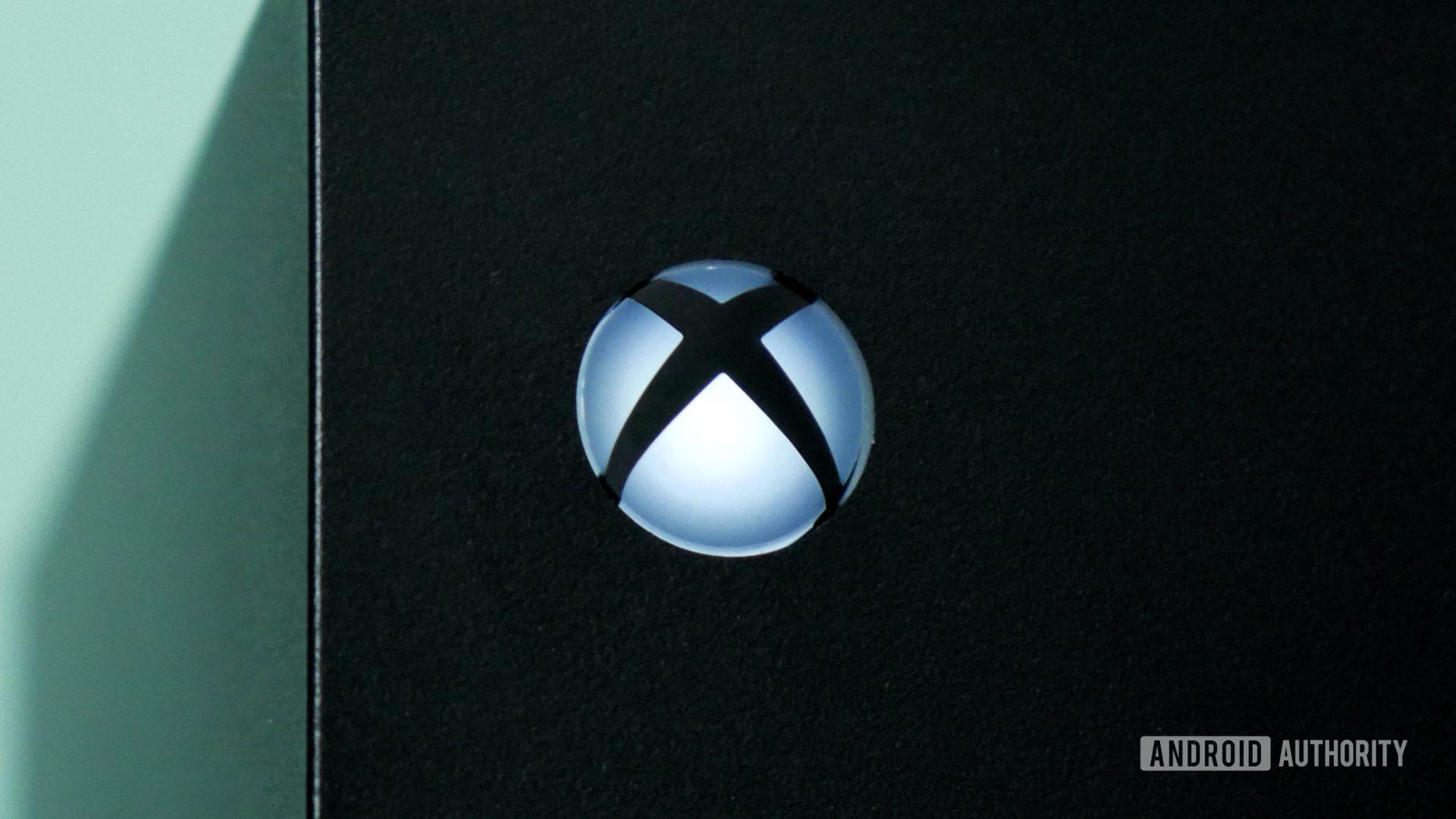 logotipo xbox série x