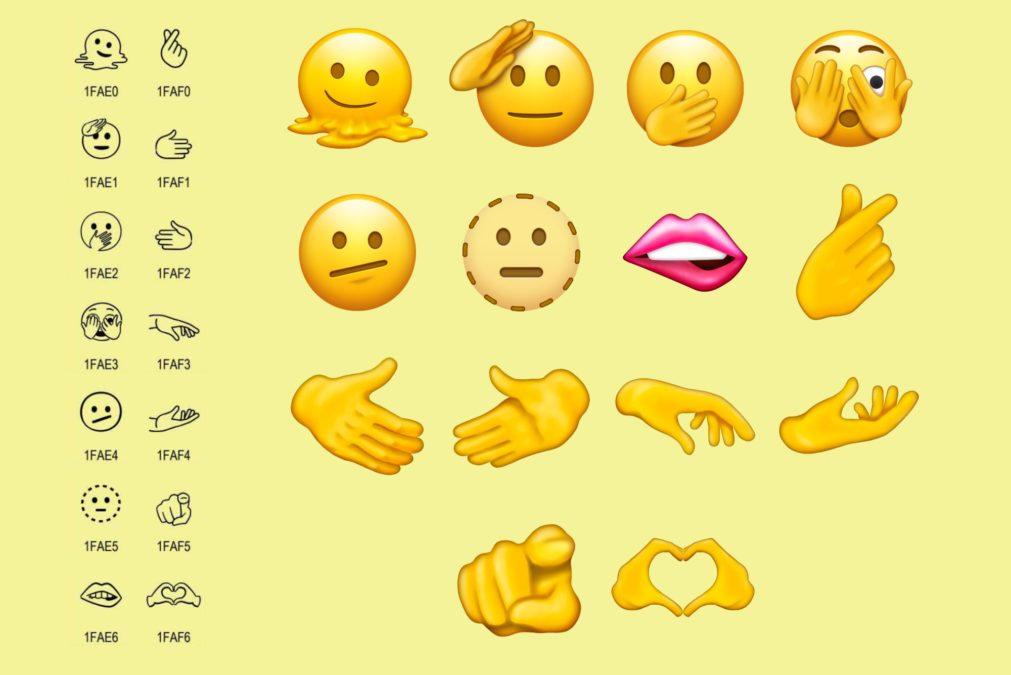 Unicode 14 novos emojis anunciados