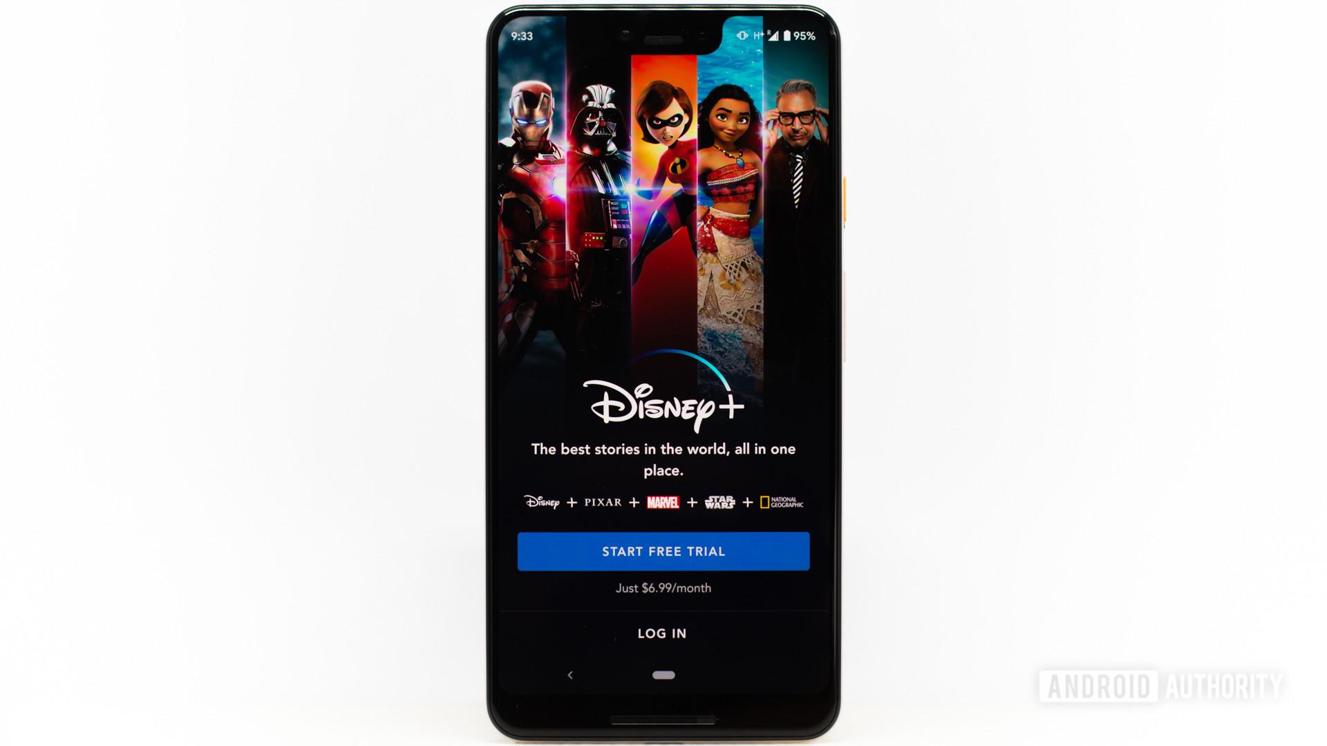 Disney Plus tela principal 3