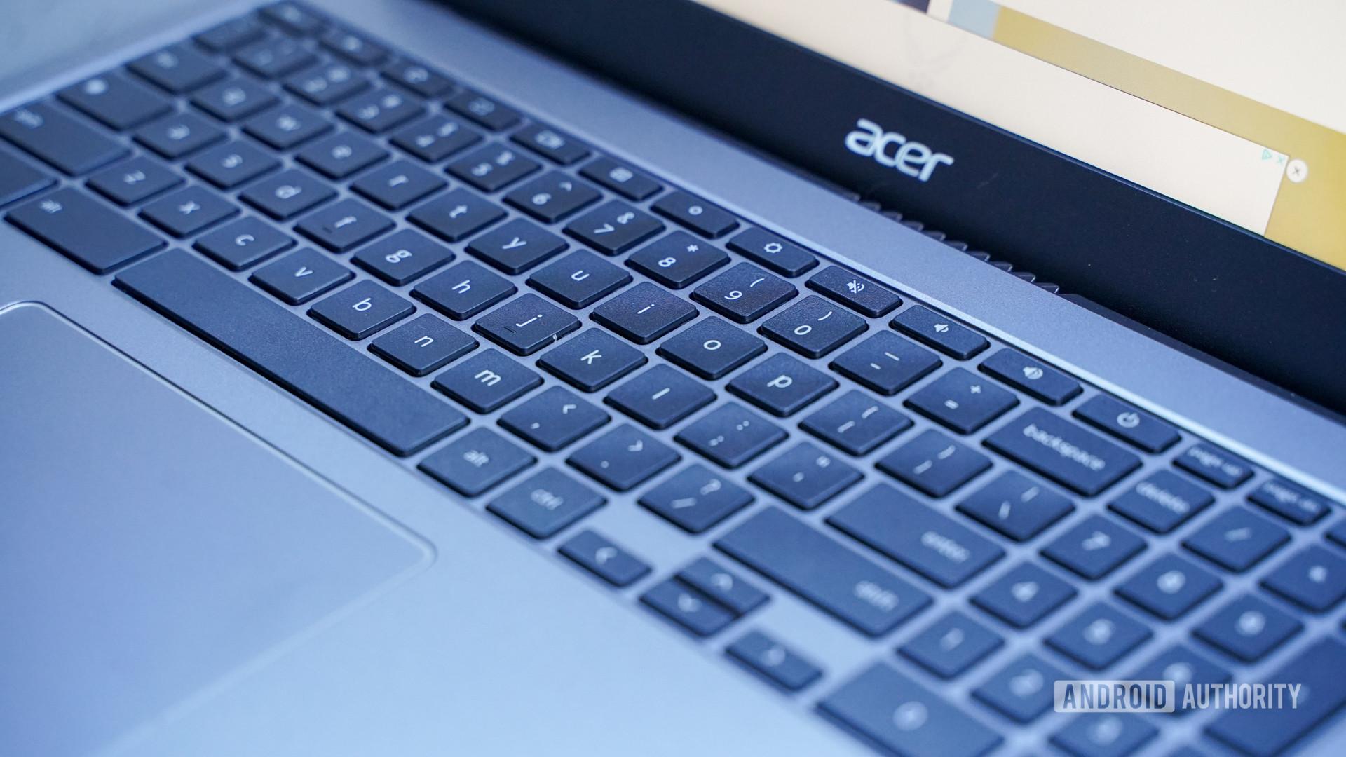 Perfil certo do teclado Acer Chromebook 515